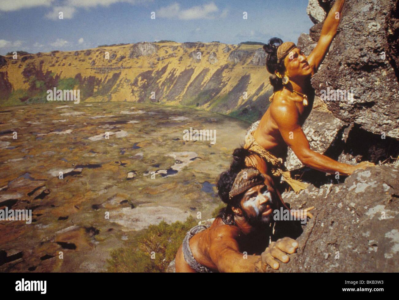 RAPA NUI -1995 - Stock Image