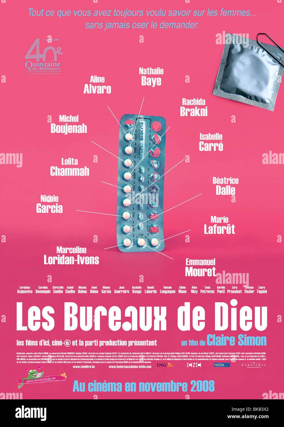 Les Bureaux de Dieu  Year : 2008 Director : Claire Simon Movie poster (Fr) - Stock Image