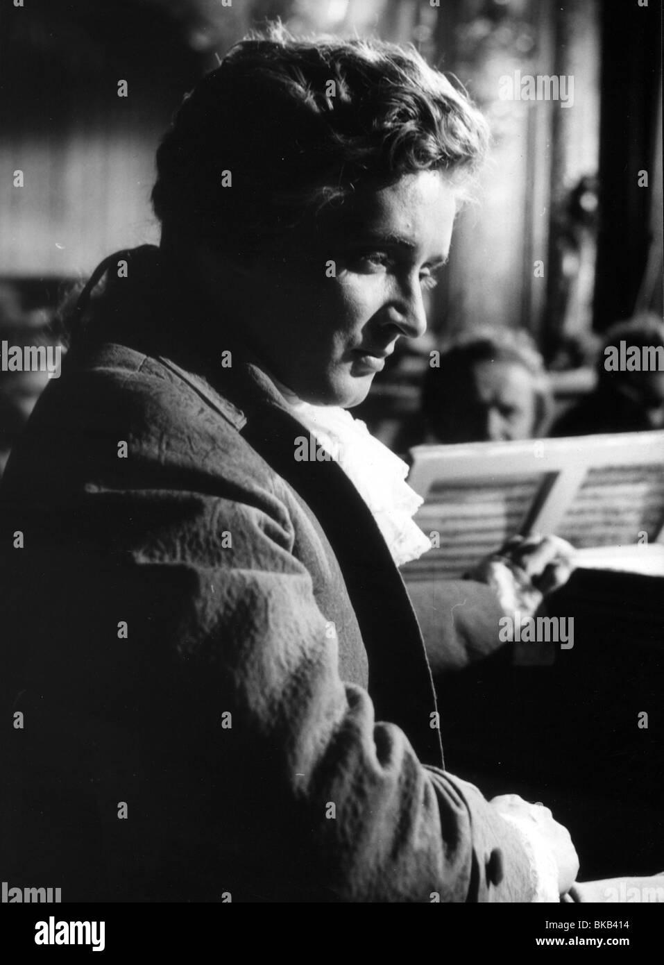 Mozart Year : 1955 Director :Karl Hartl Oskar Werner - Stock Image