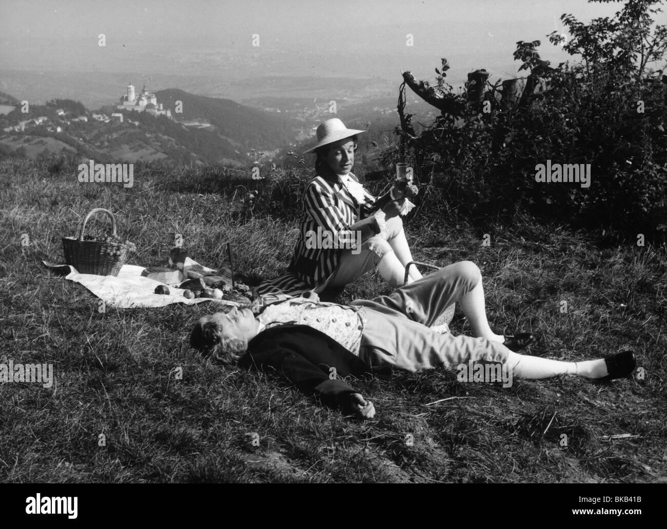 Mozart Year : 1955 Director :Karl Hartl Oskar Werner, Erich Kunz - Stock Image