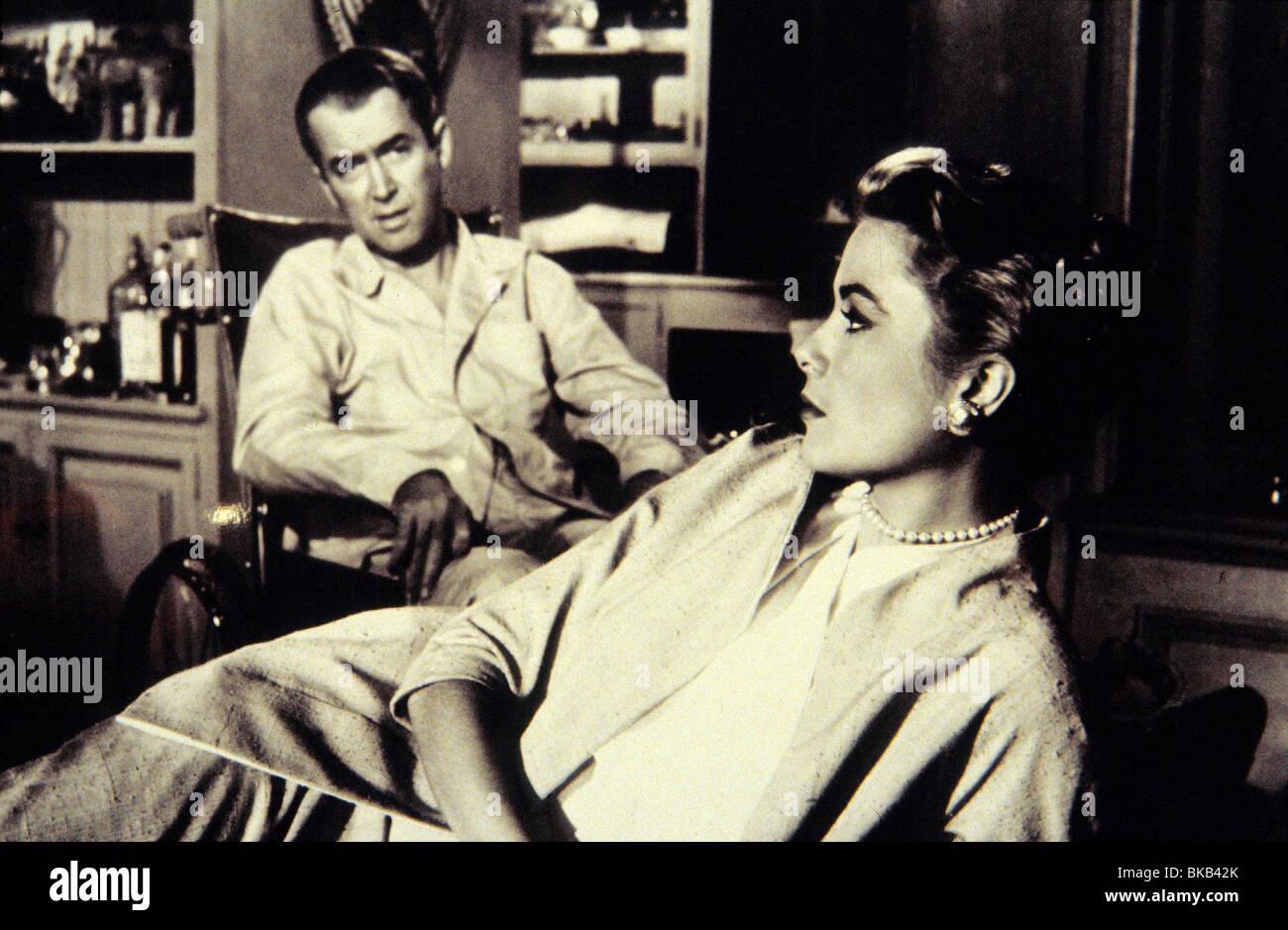 REAR WINDOW (1954) JAMES STEWART, GRACE KELLY RRW 003 - Stock Image