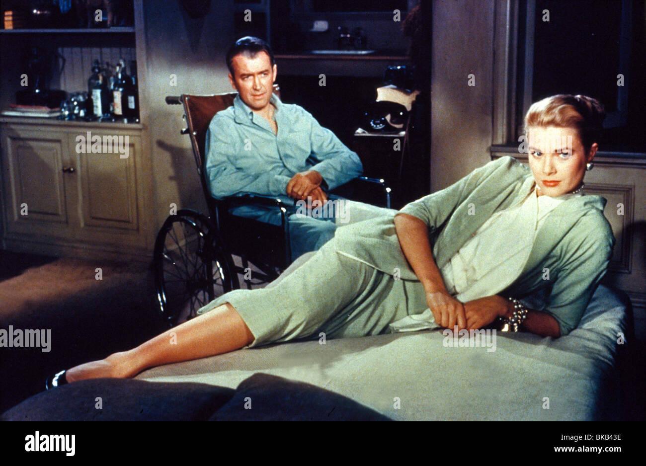 REAR WINDOW (1954) JAMES STEWART, GRACE KELLY RRW 006 - Stock Image