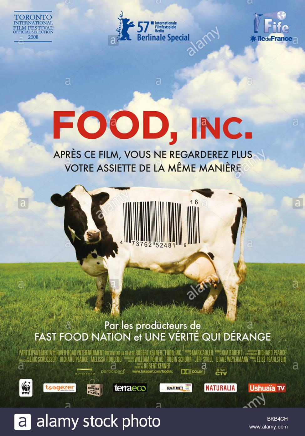 Food Inc Year 2008 Director Robert Kenner Documentary Movie Poster Fr