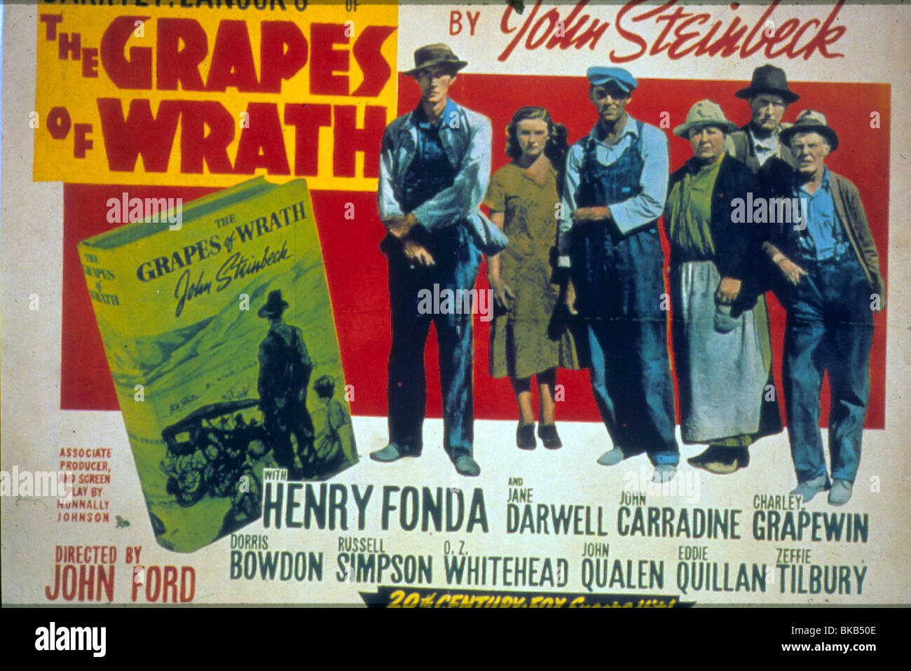 THE GRAPES OF WRATH(1940) POSTER GOWR 005 - Stock Image