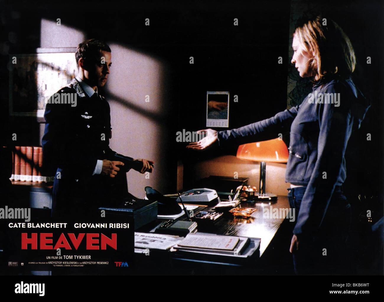 HEAVEN (2002) GIOVANNI RIBISI, CATE BLANCHETT HEVN 005FOH - Stock Image
