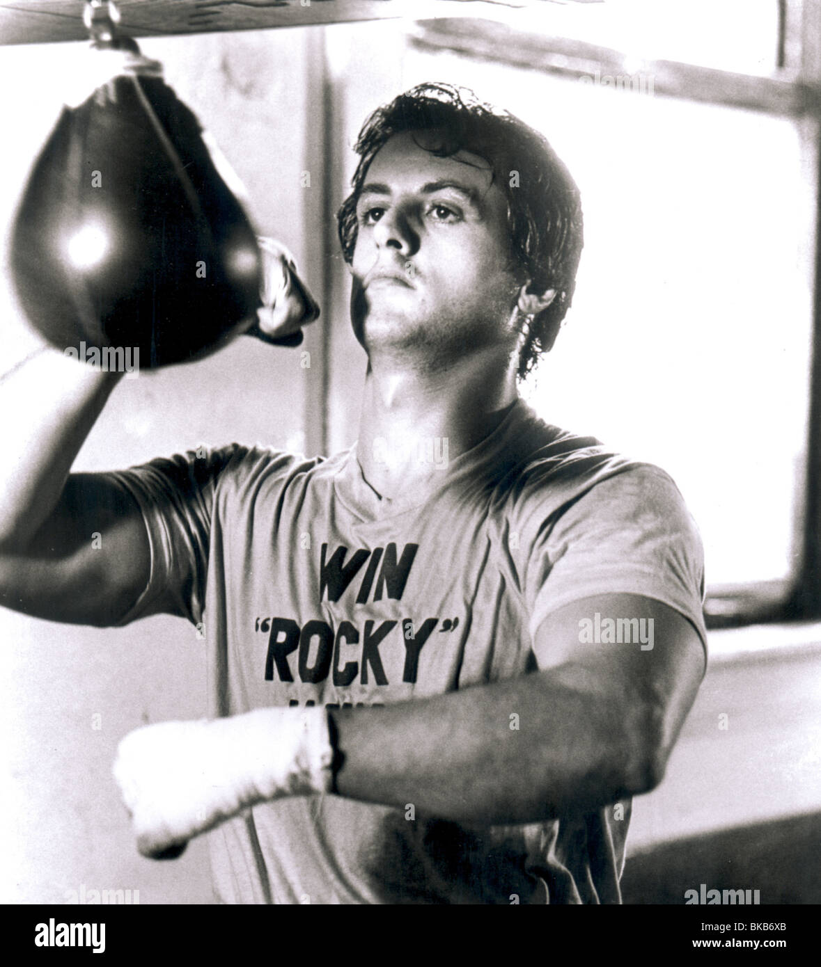 ROCKY -1976 SYLVESTER STALLONE - Stock Image