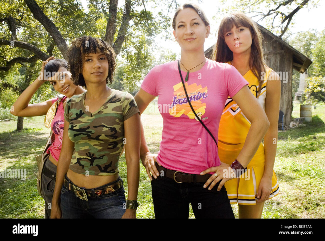 Grindhouse - Death Proof  Year 2007 - USA Rosario Dawson, Tracie Thoms, Zoe Bell, Mary Elizabeth Winstead - Stock Image