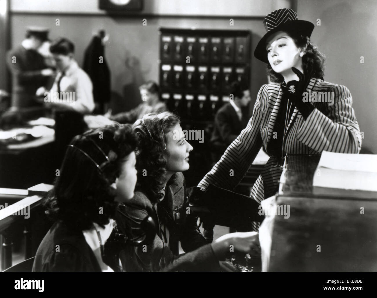HIS GIRL FRIDAY (1940) ROSALIND RUSSELL HGFY 006P - Stock Image