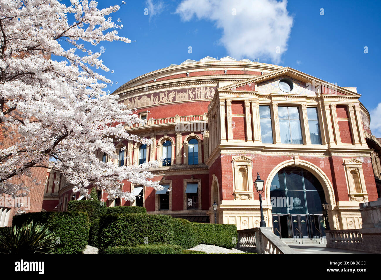 The Royal Albert Hall, Kensington, London, England, UK - Stock Image