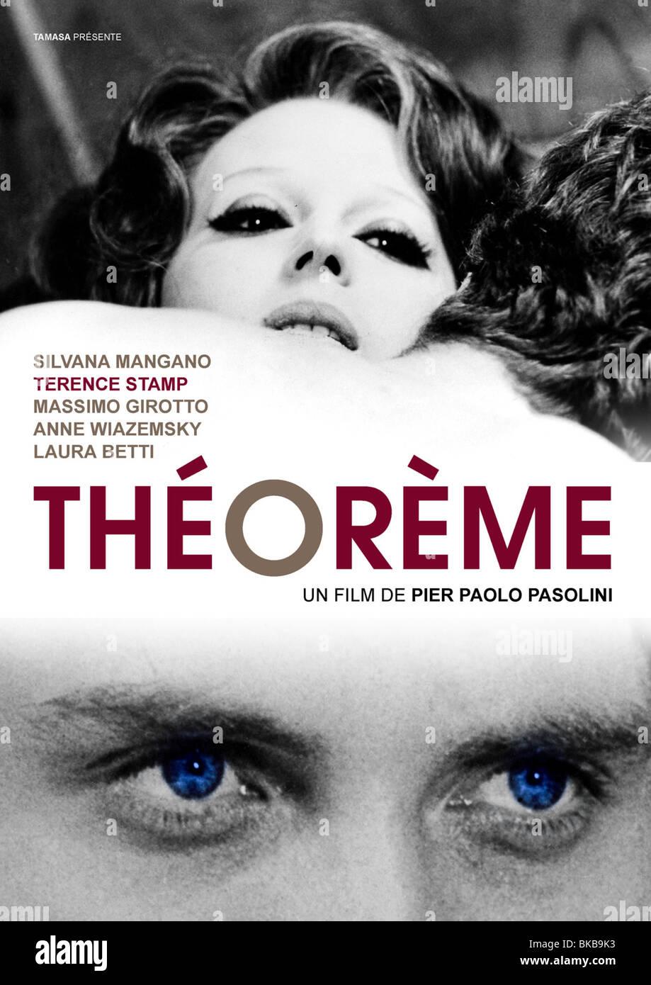Teorema Year : 1968 Director : Pier Paolo Pasolini  Affiche du film - Stock Image