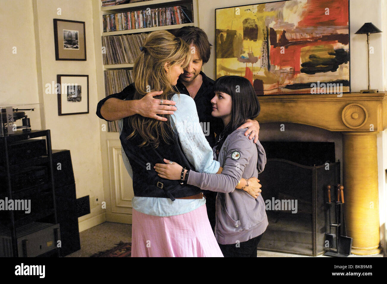 Californication Year  2008 Created by Tom Kapinos Director  David Von Ancken Season 2 - episode 10 In Utero David - Stock Image