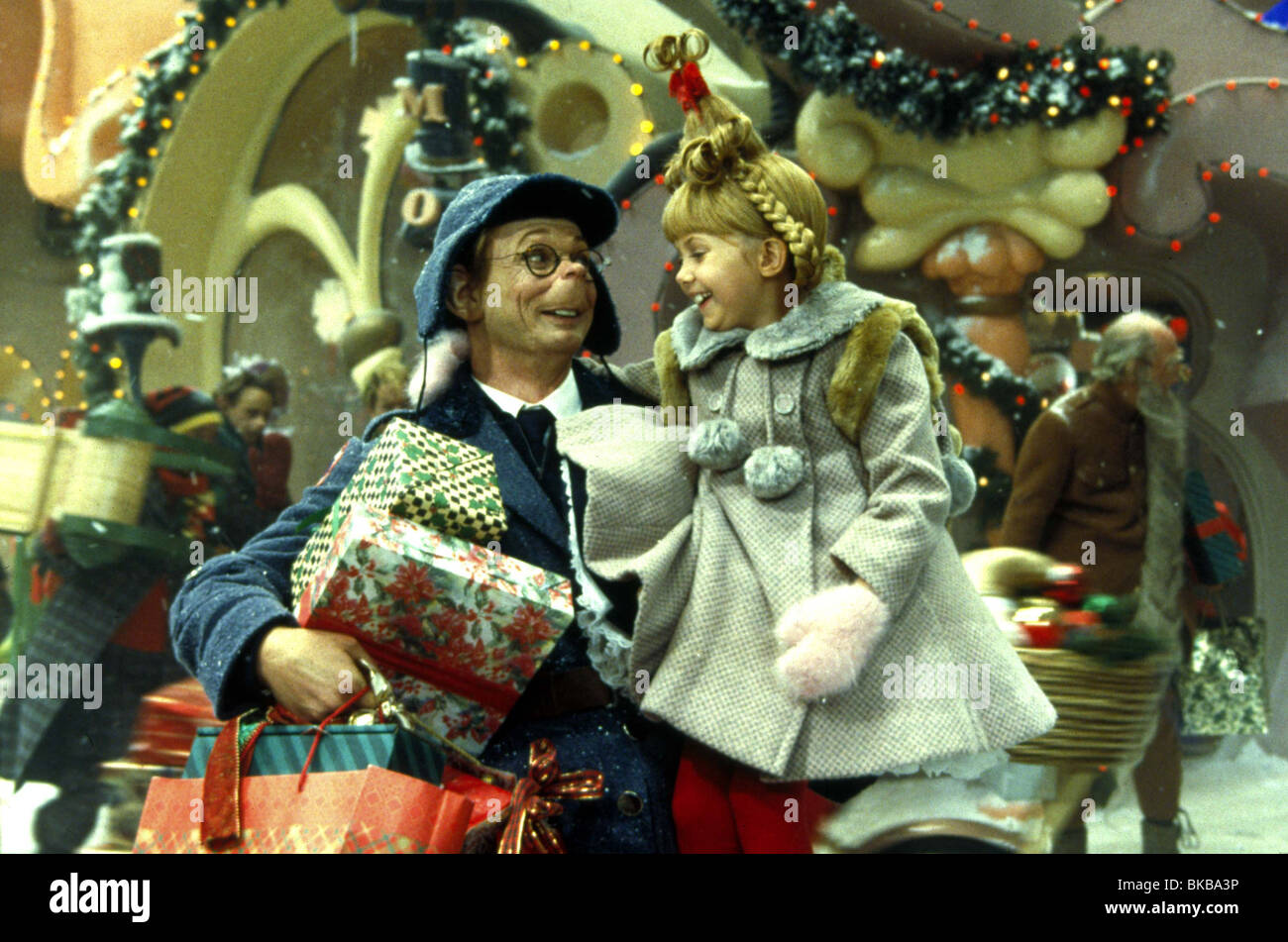 How The Grinch Stole Christmas 2000 Bill Irwin Taylor Momsen Howt Stock Photo Alamy