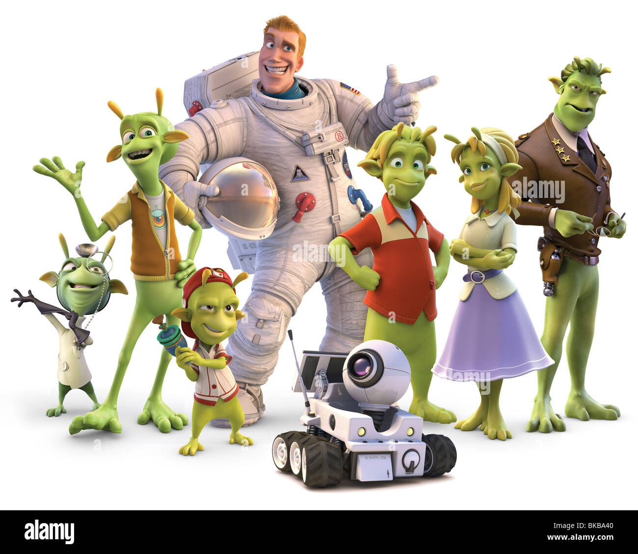 Planet 51 Year : 2009 Director : Jorge Blanco Animation - Stock Image