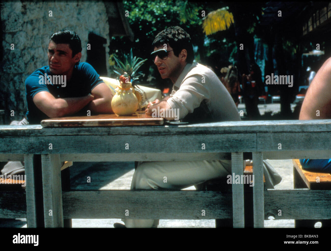 SCARFACE (1983) STEVEN BAUER, AL PACINO SCR 075 - Stock Image