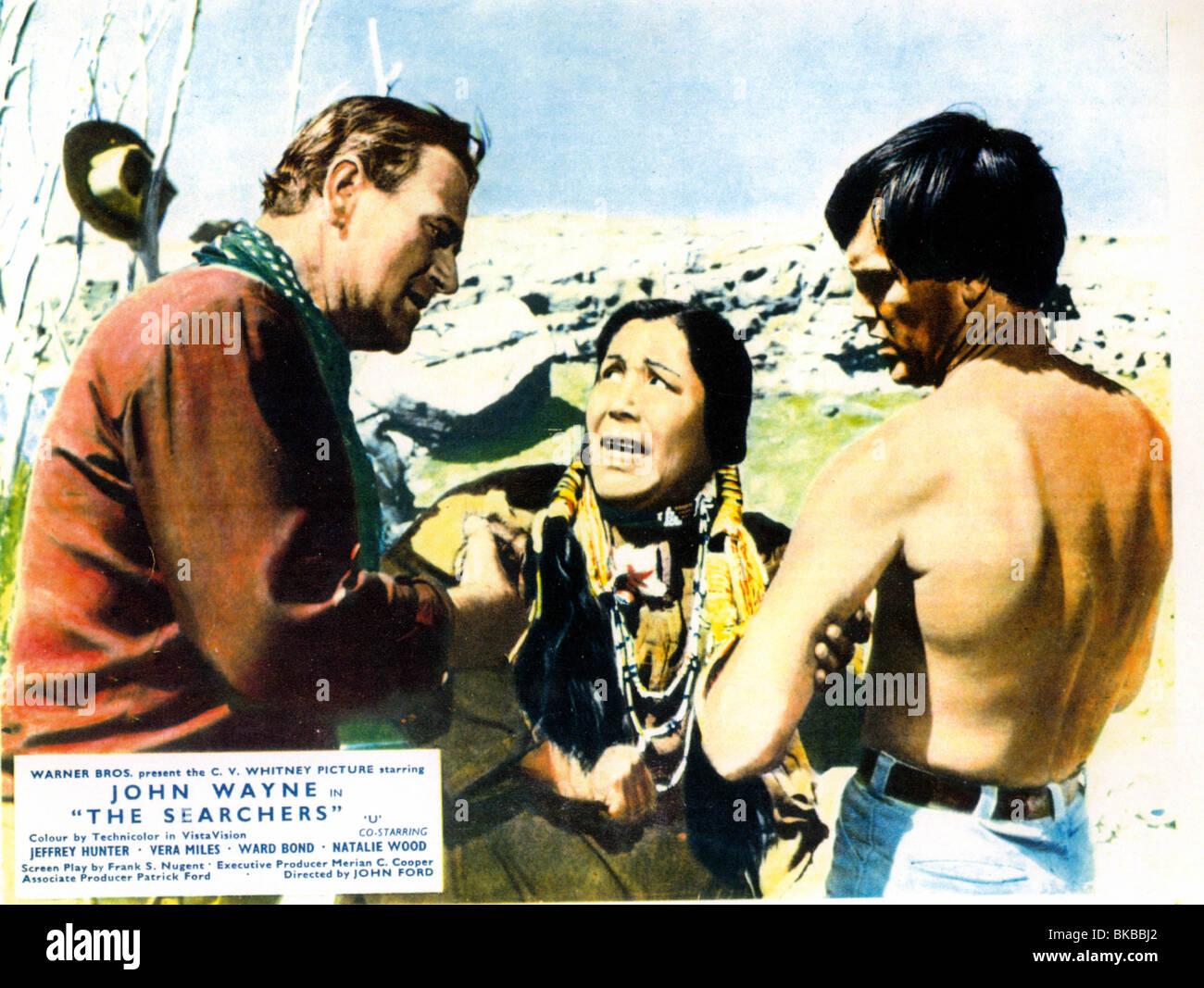 THE SEARCHERS (1956) JOHN WAYNE SEA 002CP - Stock Image