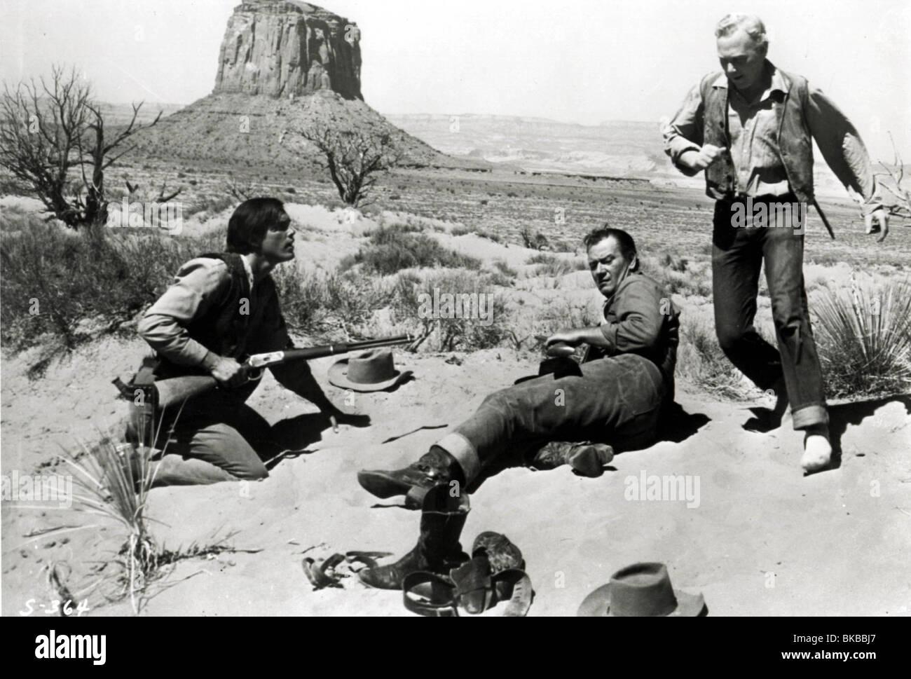 THE SEARCHERS -1956 JOHN WAYNE - Stock Image