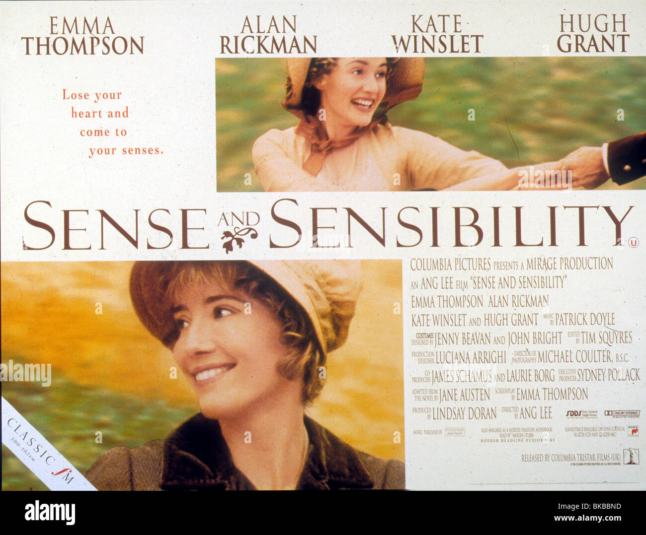 Sense And Sensibility Film Stock Photos Sense And