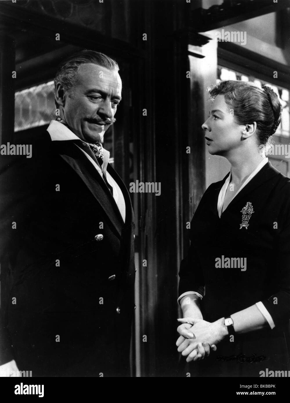 SEPARATE TABLES DAVID NIVEN,WENDY HILLER STAB 001P - Stock Image