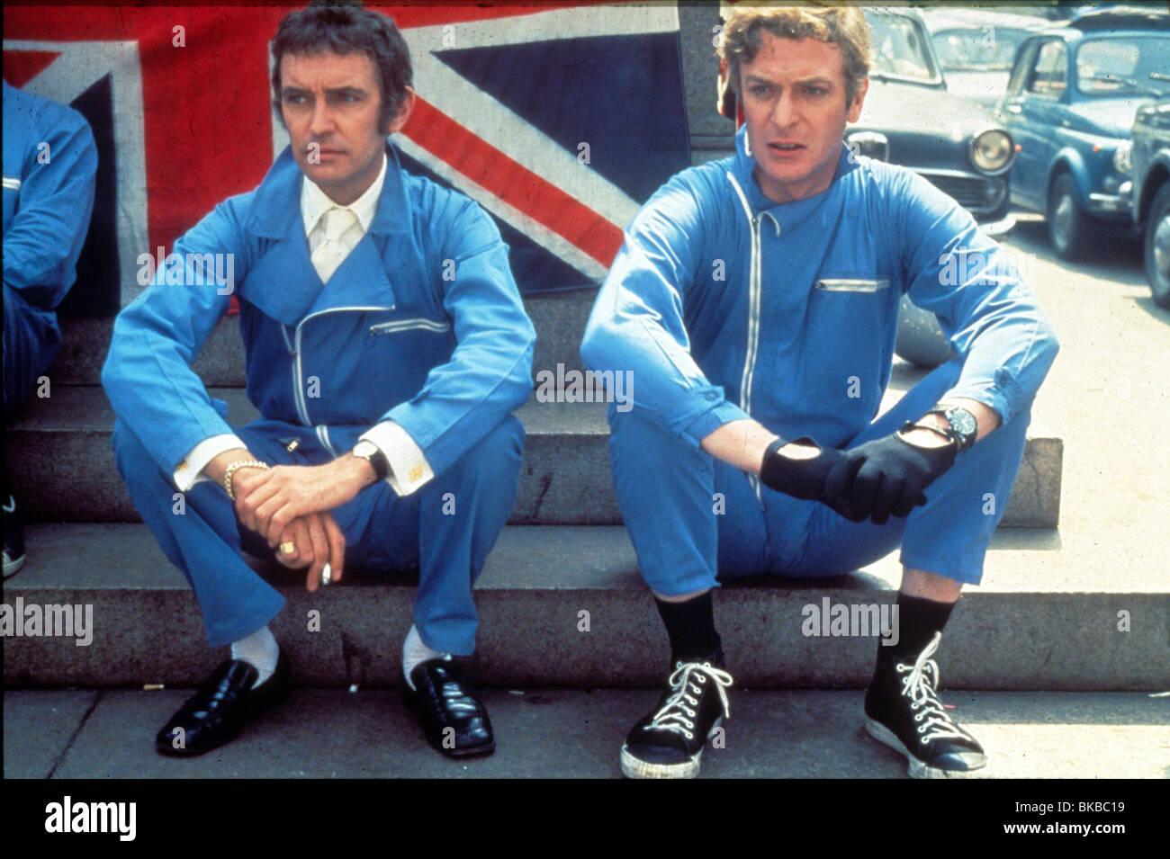 Michael caine & noel coward the italian job (1969 stock photo.