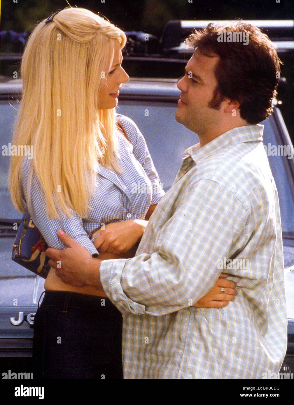 SHALLOW HALO(2001) GWYNETH PALTROW,JACK BLACK SHAL 008 FOH - Stock Image