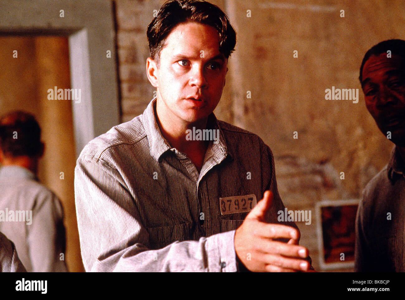 THE SHAWSHANK REDEMPTION (1994) TIM ROBBINS SHWK 012 - Stock Image