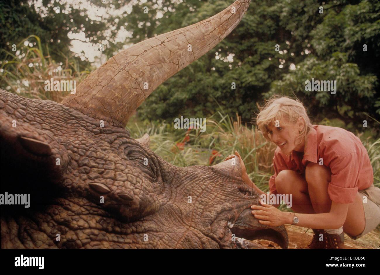 JURASSIC PARK -1993 LAURA DERN - Stock Image