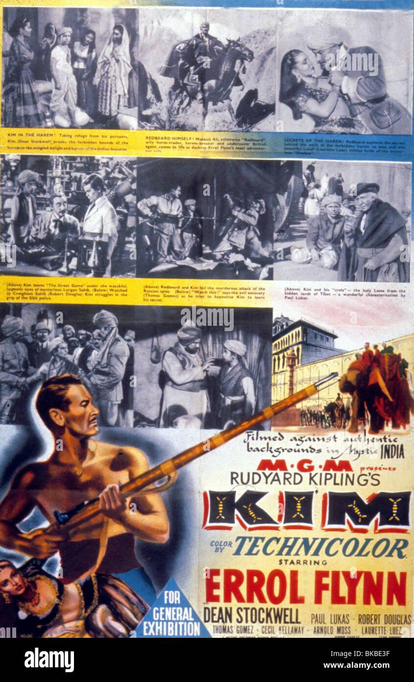 KIM -1950 POSTER - Stock Image