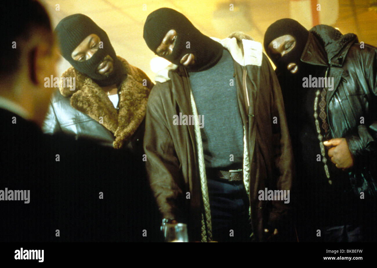 SNATCH (2000) LENNIE JAMES, ROBBIE GEE, ADE SNAT 053 - Stock Image