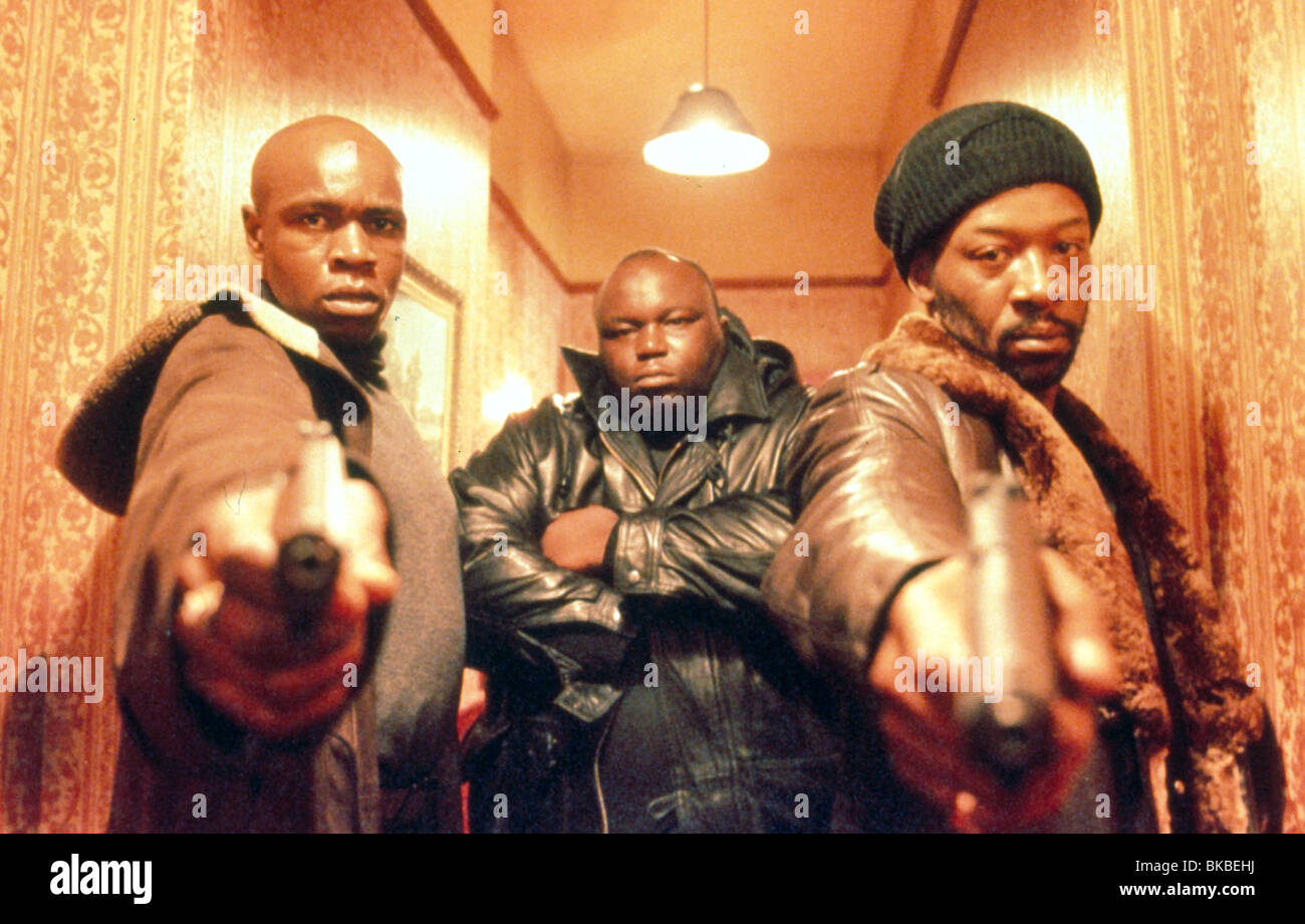 SNATCH (2000) ROBBIE GEE, ADE, LENNIE JAMES SNAT 107 - Stock Image