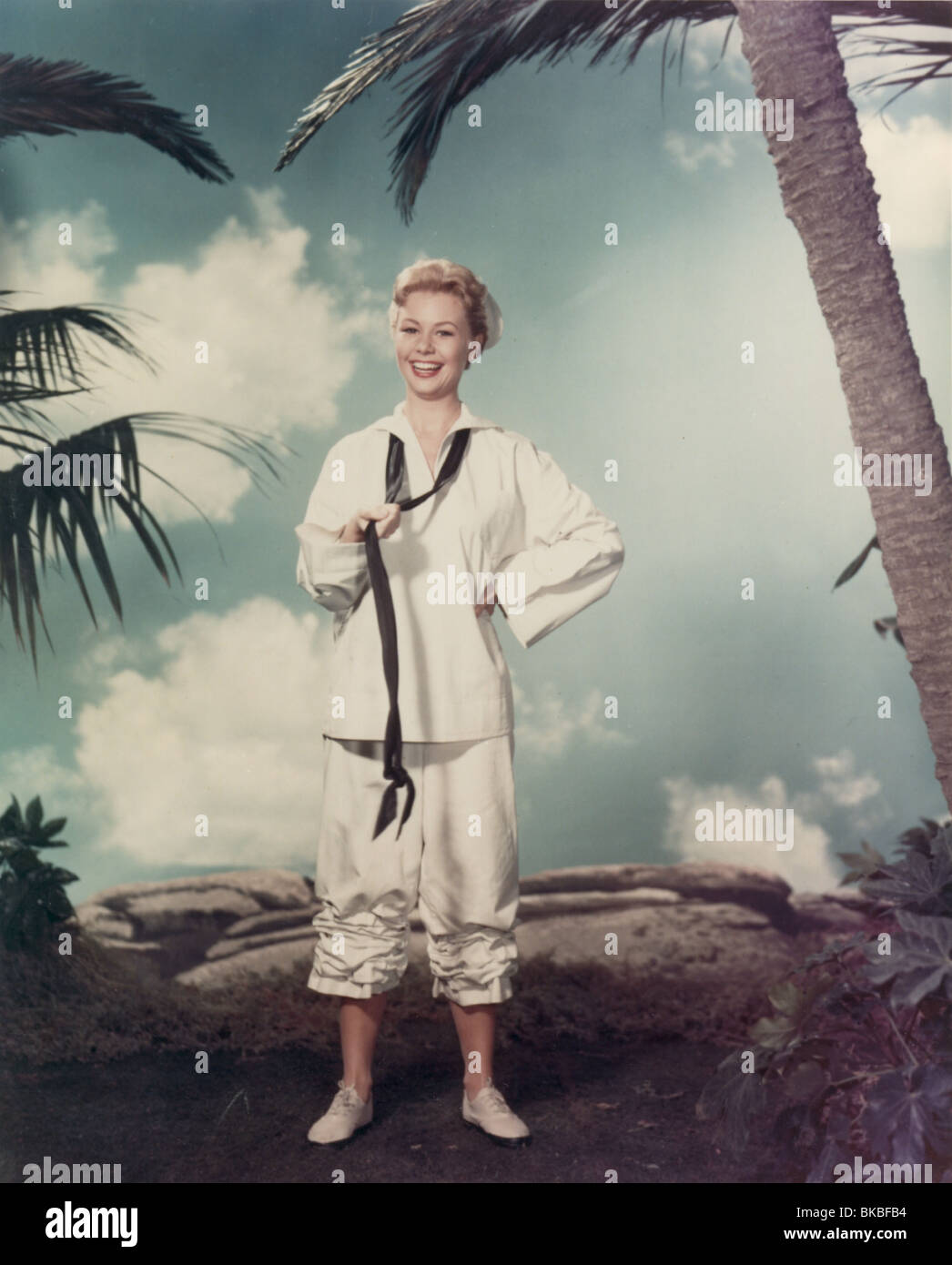 SOUTH PACIFIC (1958) MITZI GAYNOR SOP 003CP - Stock Image