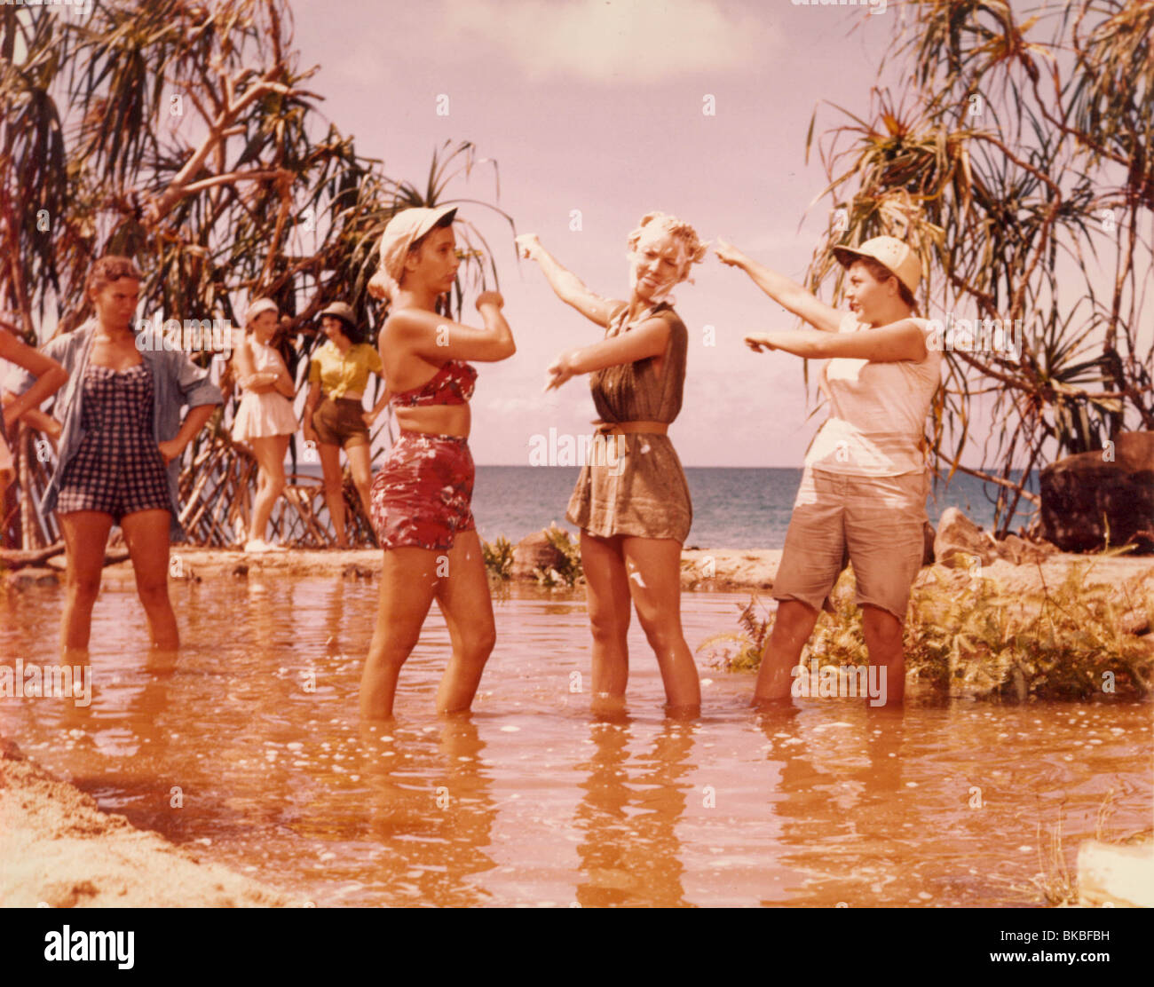 SOUTH PACIFIC (1958) MITZI GAYNOR SOP 008CP - Stock Image