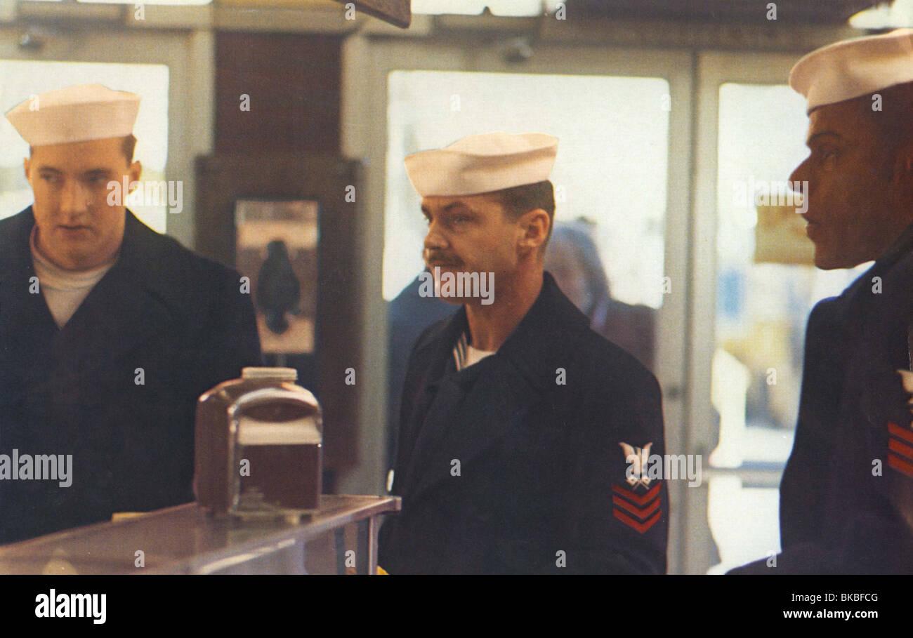 THE LAST DETAIL (1973) RANDY QUAID, JACK NICHOLSON, OTIS YOUNG LSD 006FOH - Stock Image
