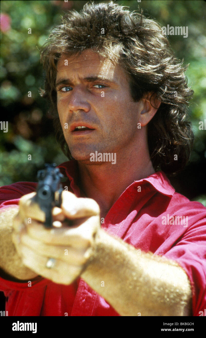 LETHAL WEAPON -1987 MEL GIBSON - Stock Image