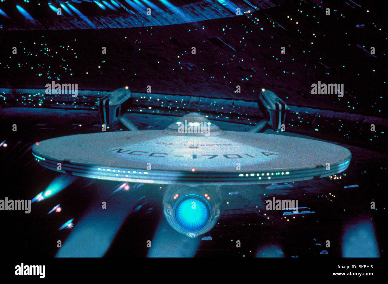 STAR TREK IV: THE VOYAGE HOME (1986) 'USS ENTERPRISE' ST4 027 Stock Photo