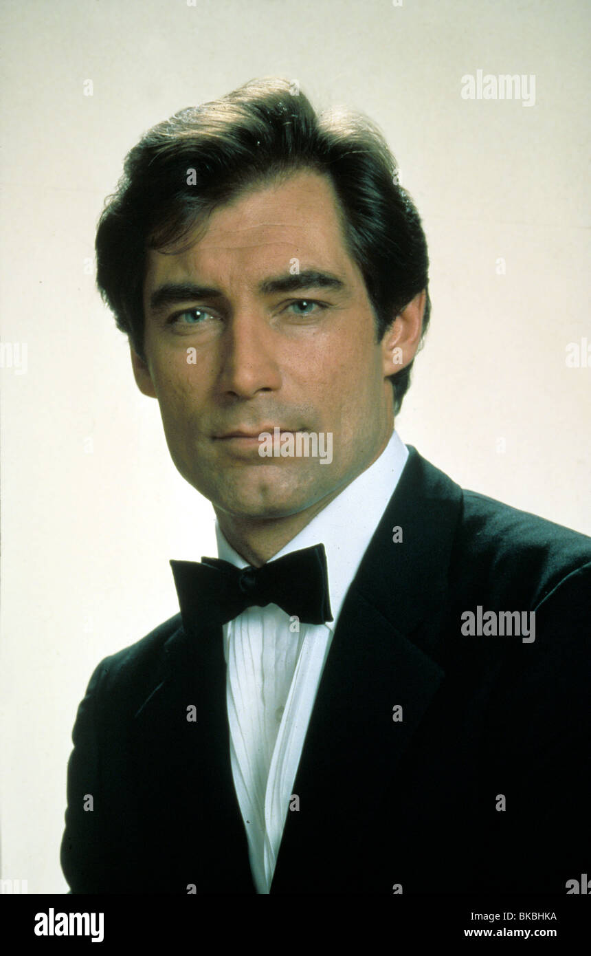 THE LIVING DAYLIGHTS (1987) TIMOTHY DALTON CREDIT EON LVD 004 - Stock Image