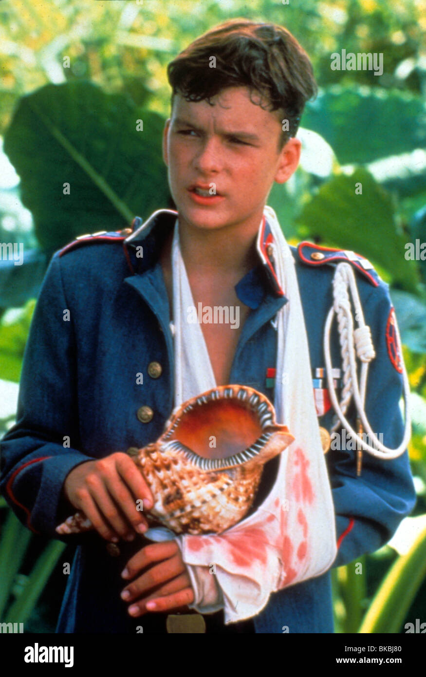 LORD OF THE FLIES (1990) BALTHAZAR GETTY LOF 008 - Stock Image
