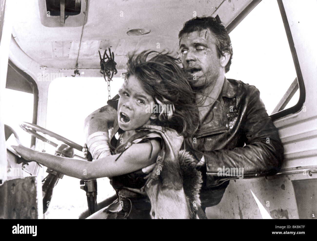MAD MAX 2 : THE ROAD WARRIOR (1981) EMIL MINTY, MEL GIBSON MX2 003P - Stock Image