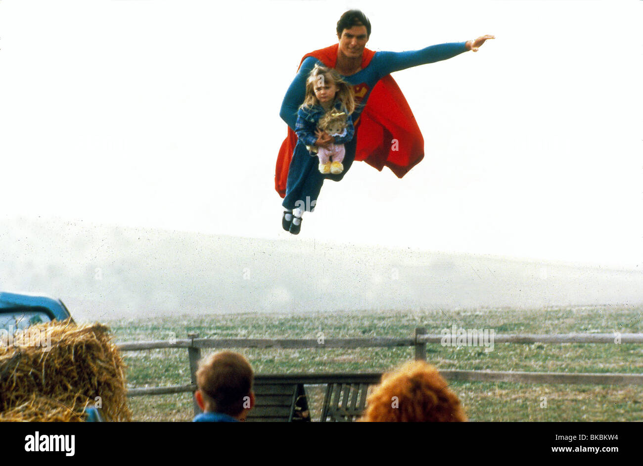 SUPERMAN IV (1987) CHRISTOPHER REEVE SP4 006 - Stock Image
