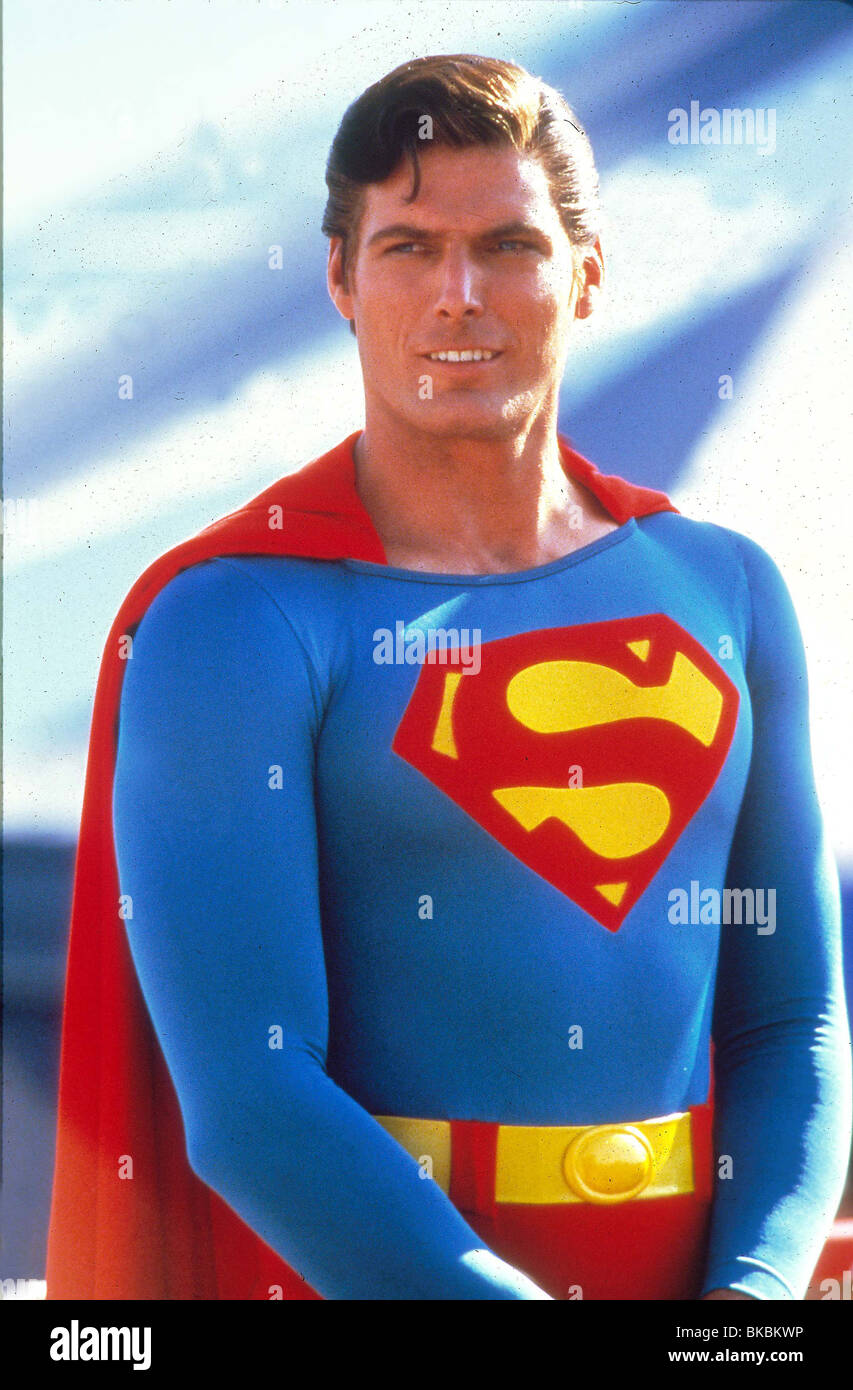 SUPERMAN IV (1987) CHRISTOPHER REEVE SP4 018 Stock Photo