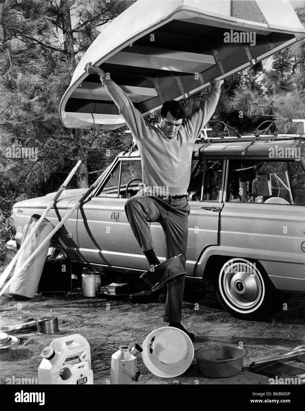 MAN'S FAVORITE SPORT (1963) MAN'S FAVOURITE SPORT (ALT) ROCK HUDSON MFSP 007P - Stock Image