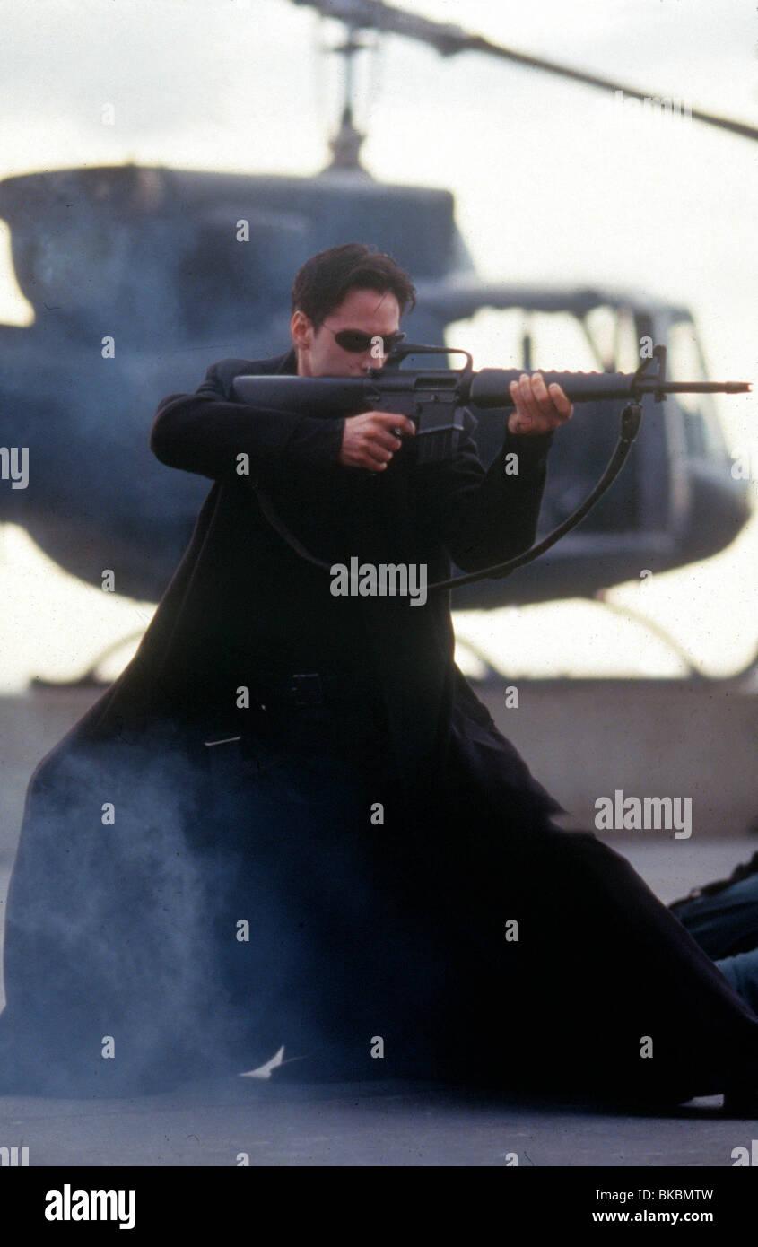 THE MATRIX -1999 KEANU REEVES - Stock Image