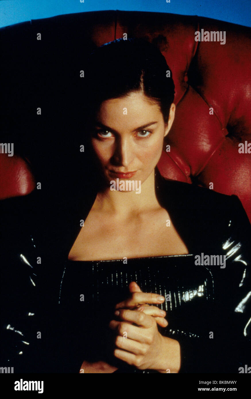 THE MATRIX (1999) CARRIE-ANNE MOSS MTIX 063 - Stock Image