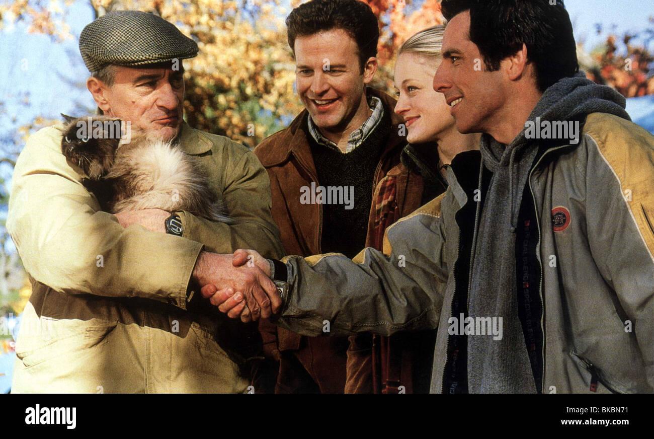 MEET THE PARENTS (2000) ROBERT DE NIRO, THOMAS MCCARTHY, TERI POLO, BEN STILLER MEET 008FOH - Stock Image