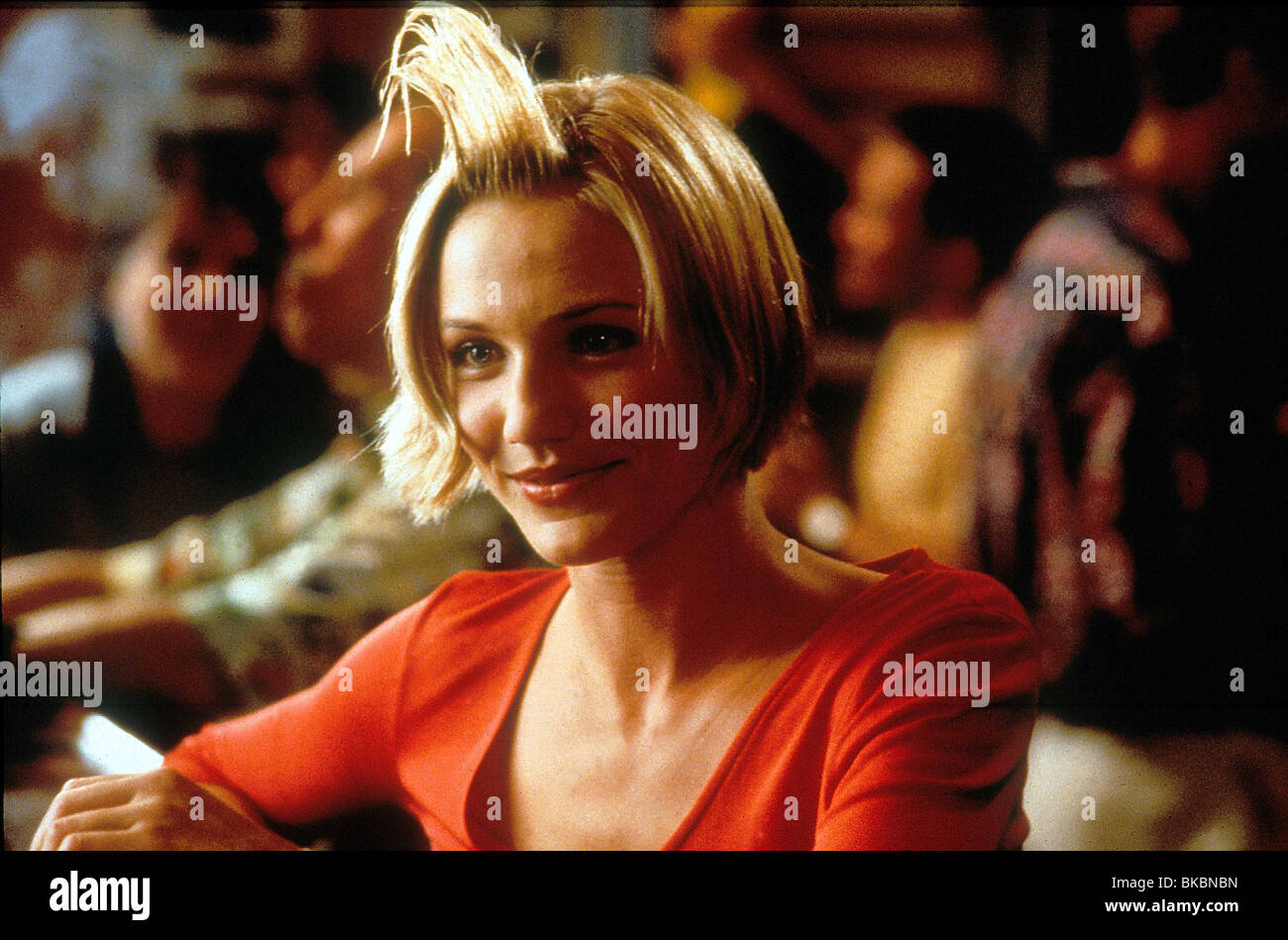 THERE'S SOMETHING ABOUT MARY CAMERON DIAZ TSAM 108 ORIGINAL 35MM Stock Photo