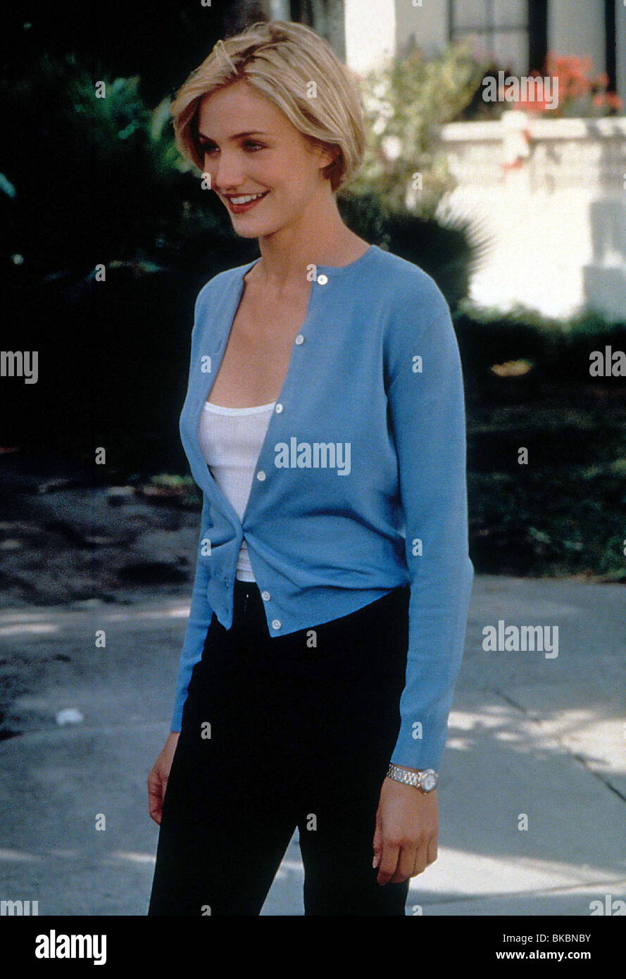THERE'S SOMETHING ABOUT MARY CAMERON DIAZ TSAM 109 ORIGINAL 35MM - Stock Image