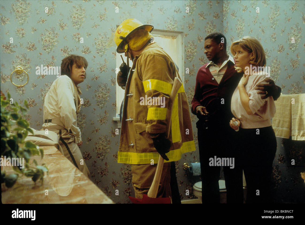 THERE'S SOMETHING ABOUT MARY BEN STILLER, KEITH DAVID, MARKIE POST TSAM 069 ORIGINAL 35MM - Stock Image