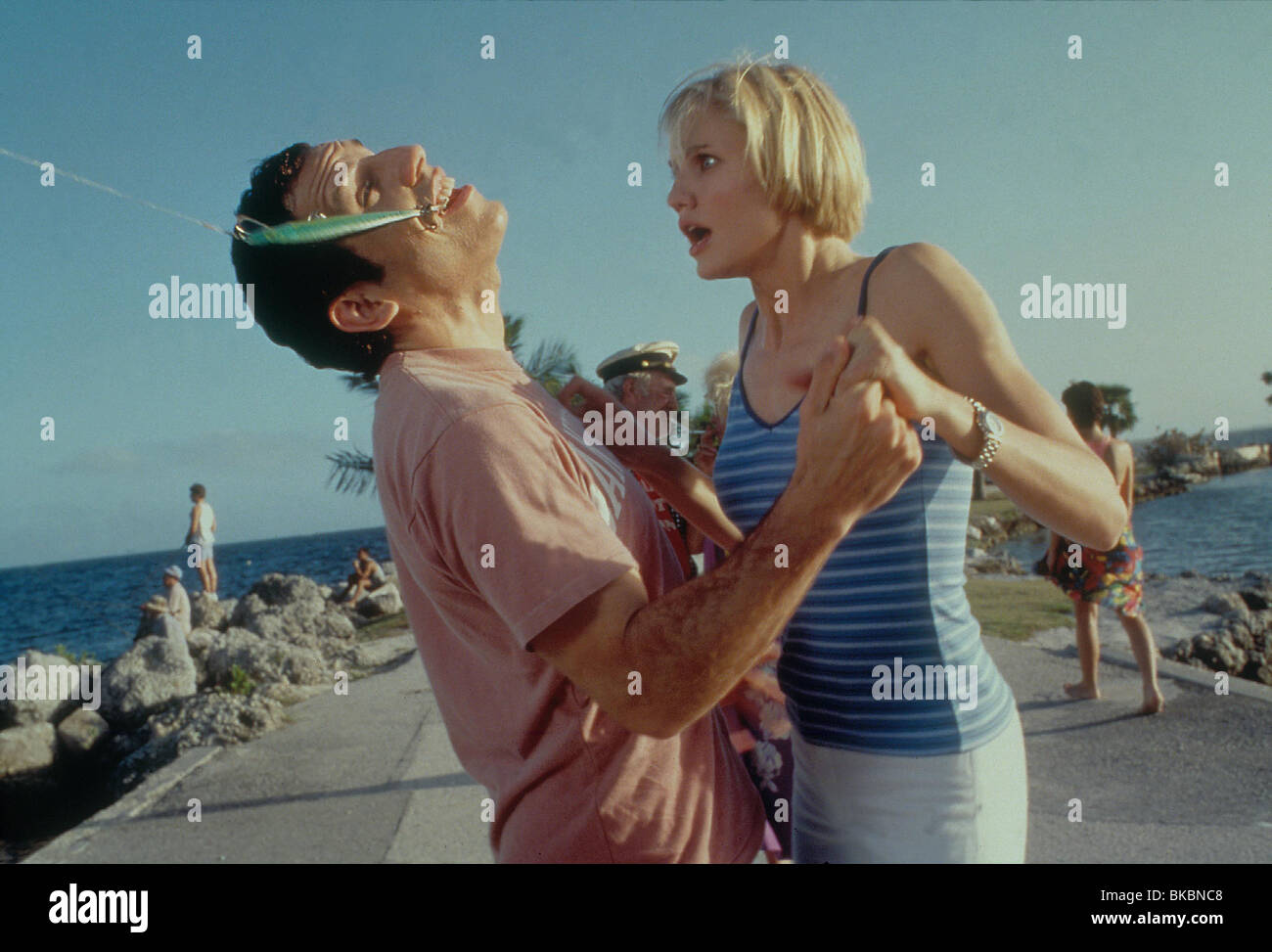 THERE'S SOMETHING ABOUT MARY BEN STILLER, CAMERON DIAZ TSAM 073 ORIGINAL 35MM - Stock Image