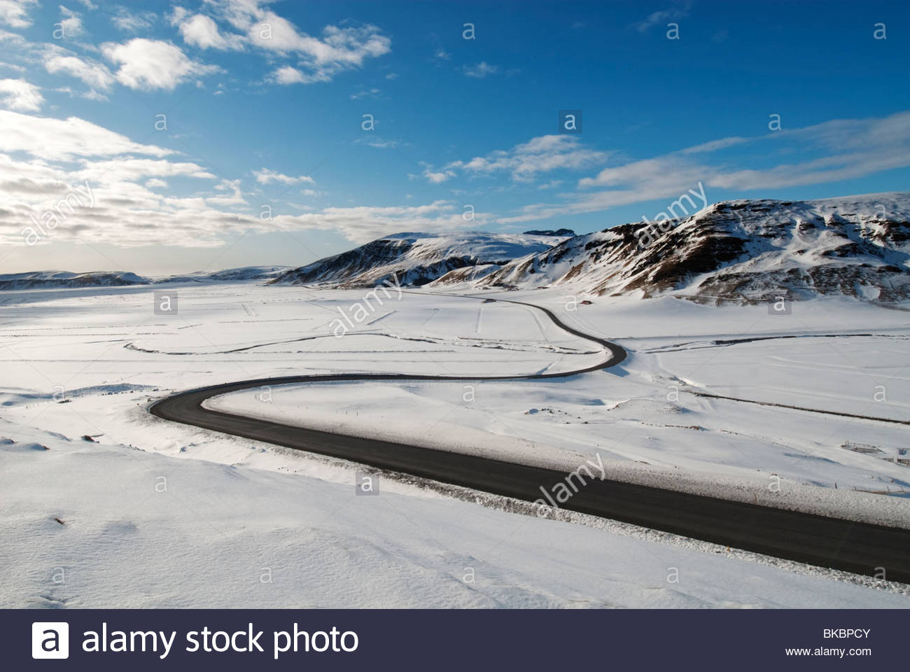 Route 1, Iceland - Stock Image