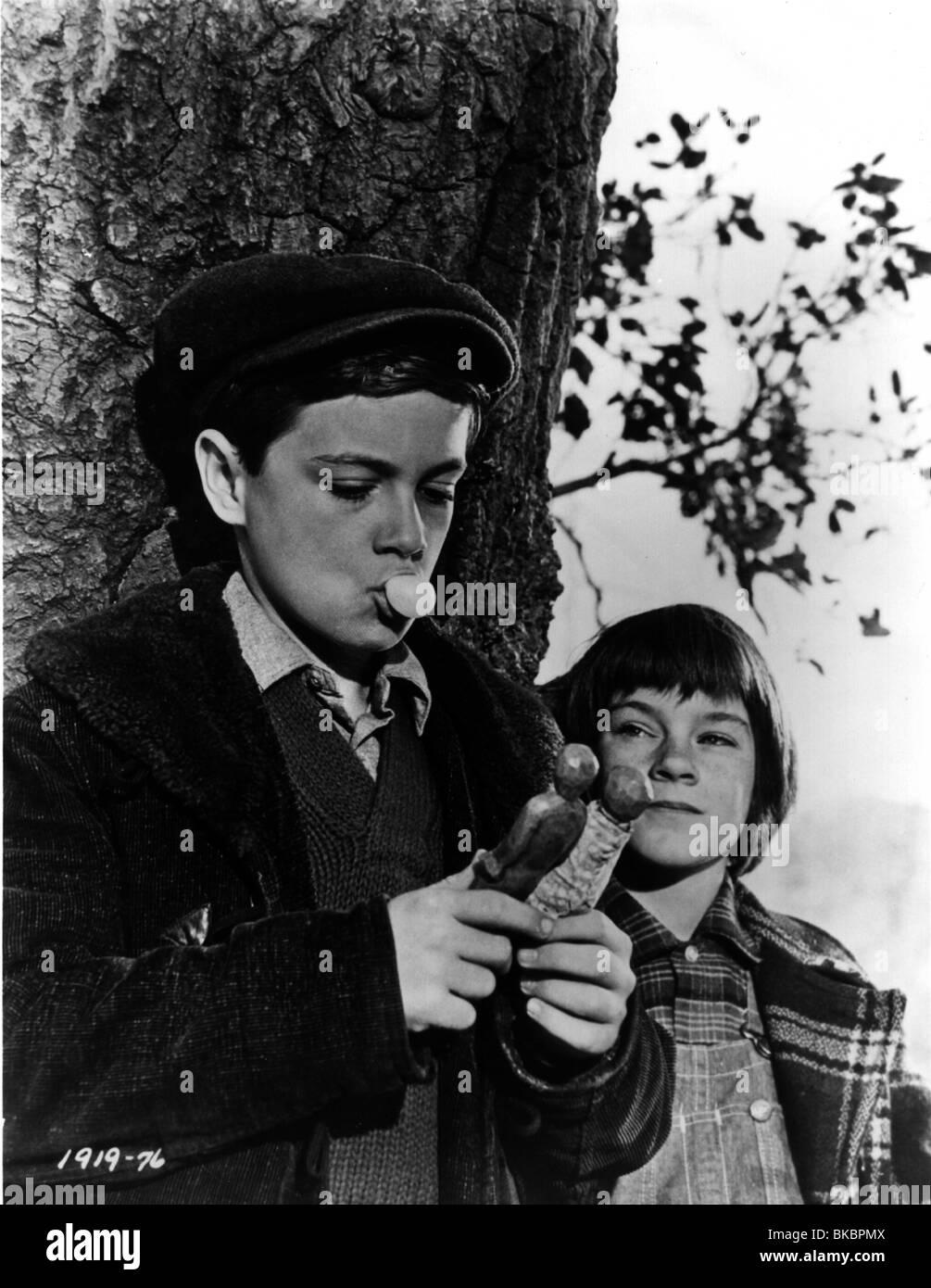 TO KILL A MOCKINGBIRD (1962) PHILLIP ALFORD, MARY BADHAM TKM 001P - Stock Image