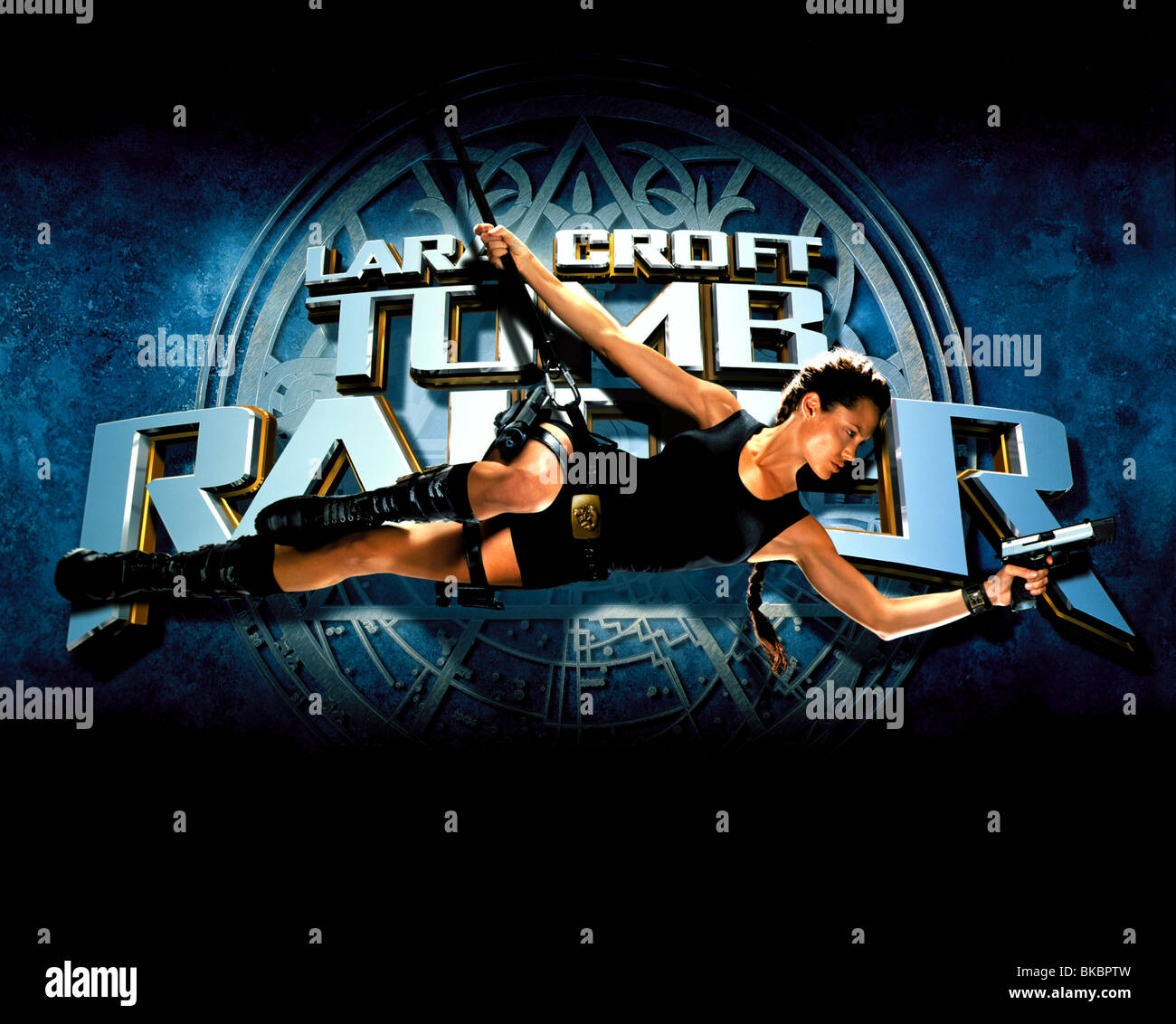 Movie Poster Lara Croft High Resolution Stock Photography And